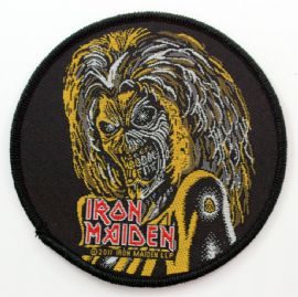 Iron Maiden - 'Killers' Round Woven Patch